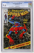 Bronze Age (1970-1979):Superhero, The Amazing Spider-Man #100 (Marvel, 1971) CGC NM+ 9.6 Off-white towhite pages....