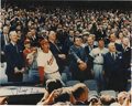 Autographs:Photos, Richard Nixon Signed Photograph. It was Opening Day 1969 and theCommander-in-Chief Richard Nixon resided over the first ba...