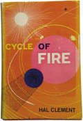 Books:First Editions, Hal Clement [pseudonym for Harry Clement Stubbs]. Cycle ofFire....
