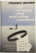 Books:First Editions, Frederic Brown. The Shaggy Dog and Other Murders....