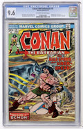 Bronze Age (1970-1979):Superhero, Conan the Barbarian #35 (Marvel, 1974) CGC NM+ 9.6 Off-white to white pages....