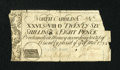 Colonial Notes:North Carolina, North Carolina March 9, 1754 26s/8d Very Fine....