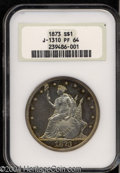 Patterns: , 1873 Trade Dollar, Judd-1310, Pollock-1453, R.4, PR 64 ...