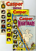 Bronze Age (1970-1979):Cartoon Character, Casper and Nightmare Group (Harvey, 1970-74) Condition: AverageVF.... (Total: 10 Comic Books)