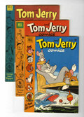 Golden Age (1938-1955):Cartoon Character, Tom and Jerry File Copies Group (Dell, 1951-54) Condition: AverageNM-.... (Total: 6 Comic Books)