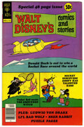 Bronze Age (1970-1979):Cartoon Character, Walt Disney's Comics and Stories #447 Signed By Carl Barks (GoldKey, 1977) Condition: NM-....