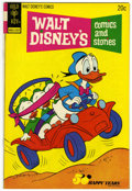 Bronze Age (1970-1979):Cartoon Character, Walt Disney's Comics and Stories #397 Signed By Carl Barks (GoldKey, 1973) Condition: VF-....