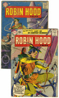 Silver Age (1956-1969):Adventure, Robin Hood Tales #7 and 9 Group (DC, 1957) Condition: Average GD.... (Total: 2 Comic Books)