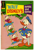 Bronze Age (1970-1979):Cartoon Character, Walt Disney's Comics and Stories #382 Signed By Carl Barks (GoldKey, 1972) Condition: VF-....