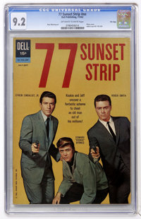 77 Sunset Strip #01-742-209 File Copy (Gold Key, 1962) CGC NM- 9.2 Off-white to white pages