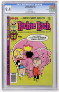 Modern Age (1980-Present):Humor, Richie Rich #186 File Copy (Harvey, 1980) CGC NM 9.4 Whitepages....