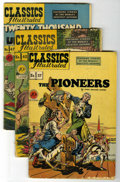 Golden Age (1938-1955):Classics Illustrated, Classics Illustrated First Editions Group (Gilberton, 1947-50)Condition: Average GD/VG.... (Total: 8)