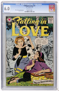 Silver Age (1956-1969):Romance, Falling in Love #33 (DC, 1960) CGC FN 6.0 Off-white pages....