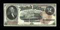 Fr. 52 $2 1880 Legal Tender Very Fine. This example shows even signs of circulation that do not detract from the overall...