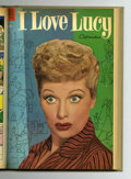 Golden Age (1938-1955):Miscellaneous, Four Color #553-564 Bound Volume (Dell, 1954)....