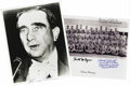 Autographs:Military Figures, Hiroshima and Nagasaki Photo, Letter, and Signature Archive. Eight autograph letters signed by participants in World War II'... (Total: 12 )