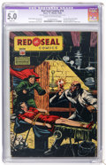 Golden Age (1938-1955):Crime, Red Seal Comics #14 (Chesler, 1945) CGC Apparent VG/FN 5.0 Slight (A) Cream to off-white pages....