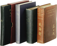 Assorted Books on China including: Archibald Colquhoun The 'Overland' to China. (London: Harper & Brothers, 1900)...