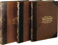 Thomas L. McKenney & James Hall (Folio): History of the Indian Tribes of North America with Biographical Sketches an...
