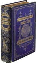 Books:Fiction, Jules Verne: Twenty Thousand Leagues Under the Sea. (Boston:James R. Osgood and Company, 1873), first American edition,...