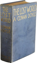Books:Fiction, Arthur Conan Doyle: The Lost World. (London, New York,Toronto: Hodder and Stoughton, n.d. [1912]), first edition, 319p...