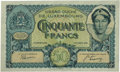 Luxembourg, Luxembourg: Grand Duche de Luxembourg 50 Francs 1-10-1932,...