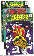 Silver Age (1956-1969):Superhero, Beware the Creeper Group (DC, 1968-69) Condition: Average VF. Four issue lot, with #2 and 4-6. Steve Ditko covers and art, e... (Total: 4 Comic Books Item)