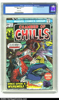 Bronze Age (1970-1979):Horror, Chamber of Chills #17 (Marvel, 1975) CGC NM 9.4 Off-white pages.Overstreet 2003 NM 9.4 value = $12. ...