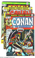 Bronze Age (1970-1979):Miscellaneous, Conan the Barbarian Group (Marvel, 1973-74) Condition: VG. Group of13 issues including #23-33, 38, and 39. Red Sonja first ... (Total:13 Comic Books Item)