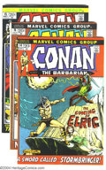 Bronze Age (1970-1979):Miscellaneous, Conan the Barbarian #14-22 Group (Marvel, 1972-73) Condition:Average VG. Lot of nine issues includes #14-22. Elric appearan...(Total: 9 Comic Books Item)