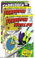 Golden Age (1938-1955):Horror, Forbidden Worlds Group (ACG, 1966-67) Condition: Average VG+. Thislot consists of issues #134 (Two copies), 140, 142 (Two c...(Total: 6 Comic Books Item)