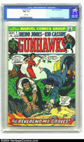 Bronze Age (1970-1979):Western, Gunhawks #5 (Marvel, 1973) CGC NM+ 9.6 White pages. Another fantastic-looking copy of this western comic, featuring a nice S...