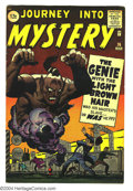 Silver Age (1956-1969):Mystery, Journey into Mystery #76 (Marvel, 1962) Condition: FN+. Jack Kirby,Steve Ditko art. Overstreet 2003 FN 6.0 value = $45....