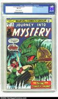 Bronze Age (1970-1979):Horror, Journey into Mystery (2nd Series) #18 (Marvel, 1975) CGC NM 9.4Off-white to white pages. Monster story reprints, featuring ...