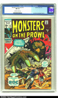 Monsters on the Prowl #10 (Marvel, 1971) CGC NM 9.4 Off-white to white pages. Don Heck and George Tuska art. Second high...