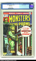 Bronze Age (1970-1979):Horror, Monsters on the Prowl #29 (Marvel, 1974) CGC NM+ 9.6 Off-white towhite. Kirby/Ditko art. Overstreet 2003 NM 9.4 value = $16...