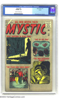 Silver Age (1956-1969):Horror, Mystic #55 Circle 8 pedigree (Atlas, 1957) CGC VF/NM 9.0 Cream tooff-white pages. Bill Everett's cover gives previews of al...