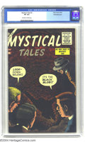 Golden Age (1938-1955):Horror, Mystical Tales #2 White Mountain pedigree (Atlas, 1956) CGC VF 8.0Off-white to white pages. A typically eye-catching cover ...