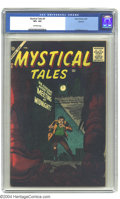 Golden Age (1938-1955):Science Fiction, Mystical Tales #5 Circle 8 pedigree (Atlas, 1957) CGC VF+ 8.5Off-white pages. This striking cover is typical of the Atlas h...