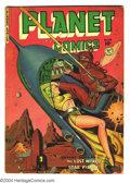 Golden Age (1938-1955):Science Fiction, Planet Comics #65 (Fiction House, 1951) Condition: Apparent GD/VG.Small amount of color touch; several pieces of tape. Over...
