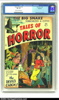 Golden Age (1938-1955):Horror, Tales of Horror #3 Bethlehem pedigree (Toby Publishing, 1952) CGCFN- 5.5 Cream to off-white pages. Collecting specimens of ...
