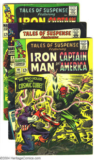 Tales of Suspense #80-89 Group (Marvel, 1966-67) Condition: Average VG+. Featuring Captain America and Iron Man. Gene Co...