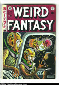Golden Age (1938-1955):Science Fiction, Weird Fantasy #16 (EC, 1952) Condition: FN. Al Feldstein cover.Overstreet 2003 FN 6.0 value = $90....