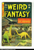 Golden Age (1938-1955):Science Fiction, Weird Fantasy #17 (EC, 1953) Condition: VG/FN. Al Feldstein cover.Overstreet 2003 VG 4.0 value = $60; FN 6.0 value = $90....