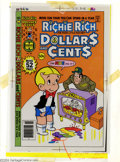 Original Comic Art:Miscellaneous, Color Separations for Richie Rich Dollars and Cents #90 Cover(Harvey, 1970s). A very interesting item, these are the CMYK c...