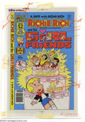 Original Comic Art:Miscellaneous, Color Separations for Richie Rich Dollars and His Girl Friends #1Cover (Harvey, 1970s). A very interesting item, these are ...