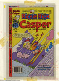 Original Comic Art:Miscellaneous, Color Separations for Richie Rich and Casper #27 Cover (Harvey,1970s). A very interesting item, these are the CMYK color se...