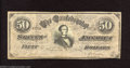 Confederate Notes:1864 Issues, Counterfeit 1864 $50, CT-66/501, Very Fine. Counterfeits of ...