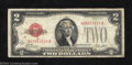Small Size:Legal Tender Notes, 1928A $2 Legal Tender Note, Fr-1502, Fine. The 1928A is the ...