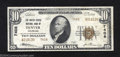 National Bank Notes:Colorado, Denver, CO - $10 1929 Ty. 2 The United States NB Ch. # ...